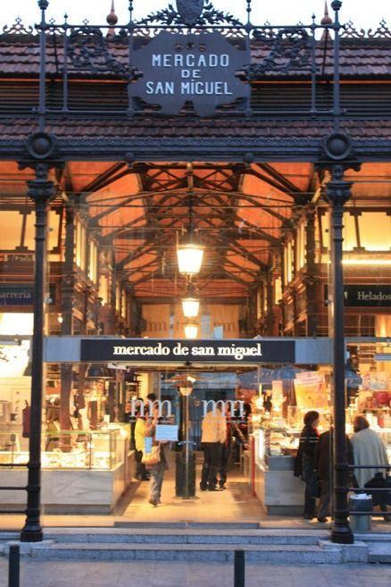 圣米格尔市场 图片来源自paloma81.blogspot.com
