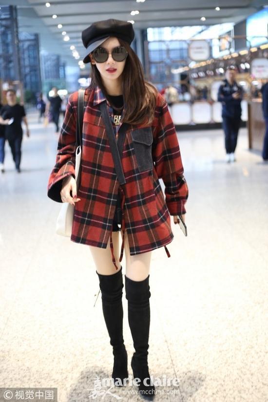 解锁秋冬时髦新姿势 拼接外套给你好看