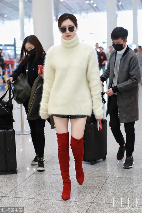 让杨幂热巴都爱不释手的白毛衣 究竟有什么魅力