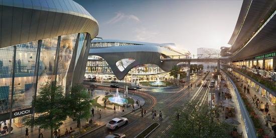 香港国际机场SKYCITY概念图