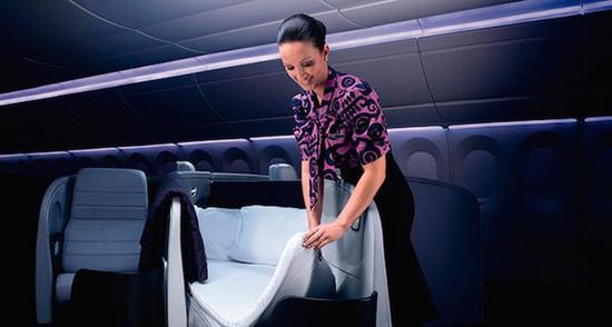 新西兰航空连续五年成为排名第一的航空公司。