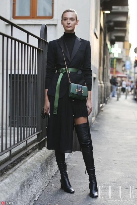 女明星对过膝长靴的喜爱更是超乎你想象!