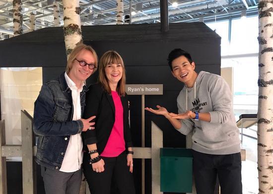 朱晓辉在机场中住的小木屋