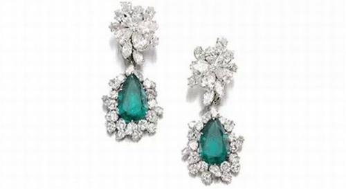 吉娜·劳洛勃丽吉达(Gina Lollobrigida)的耳环