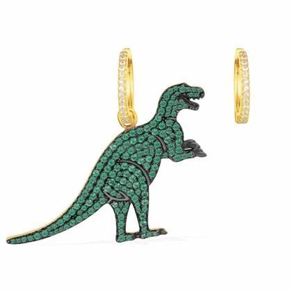 APM MONACOREXY INWONDERLAND 系列小恐龙耳环