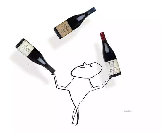 塞吉·布罗什为《纽约时报》画的涂鸦