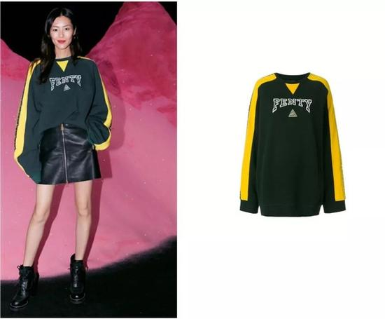 刘雯 in Fenty Puma by Rihanna