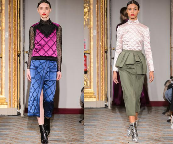2018 FallWinter London Fashion Week Huishan Zhang