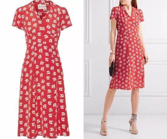 单品推荐:HVN连衣裙 3905元(图片来源于品牌官网)