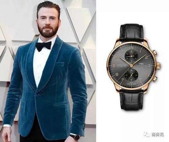 你一定想象不到的是,私下里Chris其实更喜欢戴Gucci等品牌的时装表……