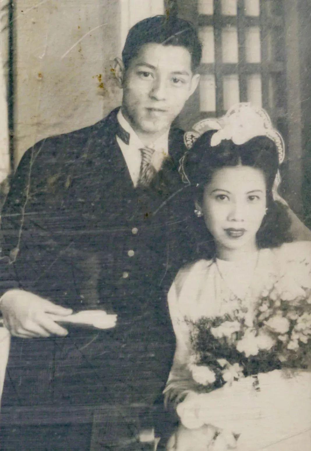 Alice与先生的结婚照