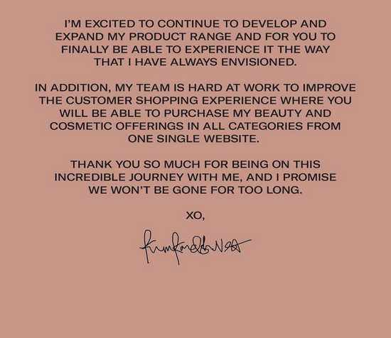 卡戴珊宣布KKW Beauty 下个月改名!