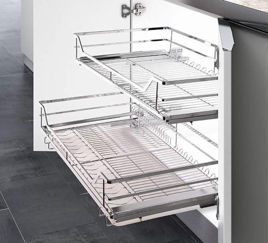 OULIN 欧琳 厨房橱柜拉篮 价格639元 亚马逊有售 图片来自www.amazon.cn