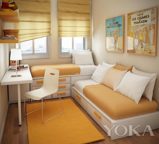 统一色调则有被环绕温馨的放松感 图片来自宜家家居