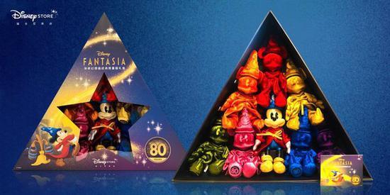 迪士尼推出系列主题活动和周边 致敬划时代的经典动画《幻想曲》80周年
