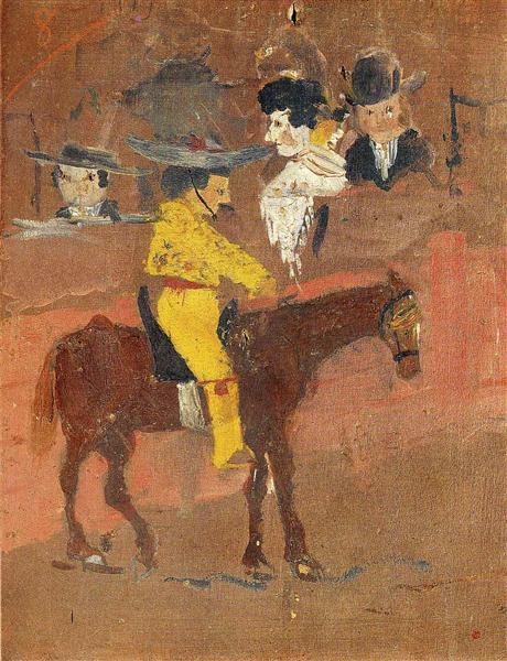 《斗牛士》(1889)