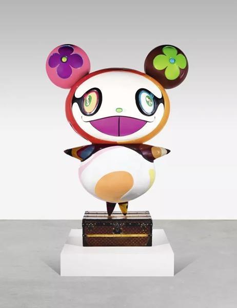 村上隆,《熊猫》,2003年作。成交价1,215,000 英镑