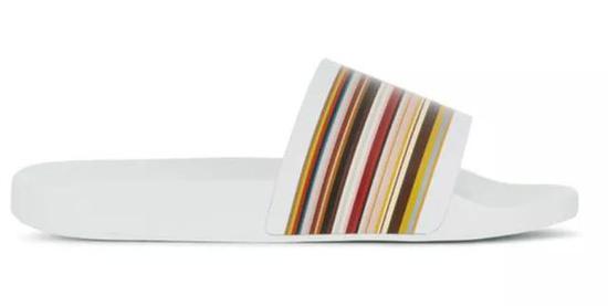 Paul Smith条纹拖鞋 ¥1,449