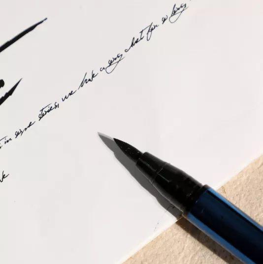 ⑤名创优品双头眼线液笔 粗头