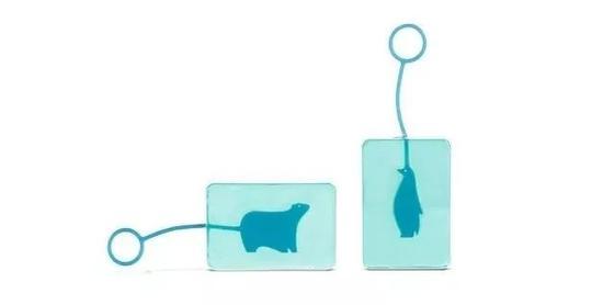 这款香皂除了有可爱的外观设计,更重要的是它独特的设计理念。