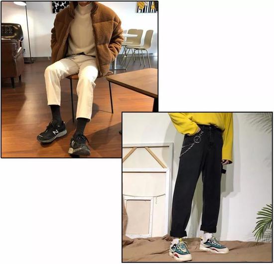短袜和九分裤真的是绝配
