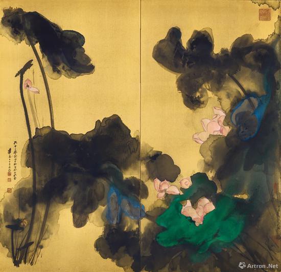 苏富比艺术空间即将呈现张大千艺术特展:无象之象