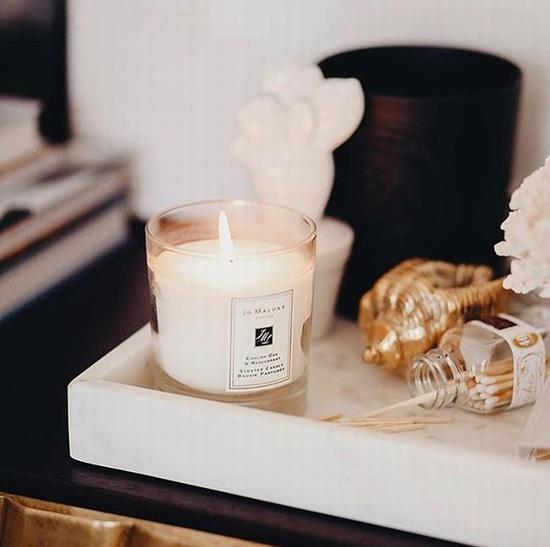 点香氛蜡烛要注意细节 图片源自instagram@jomalonelondon