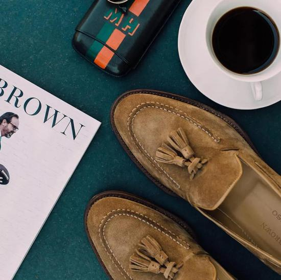 如何像华尔街大佬一样穿乐福鞋?|乐福鞋|复古|绅士