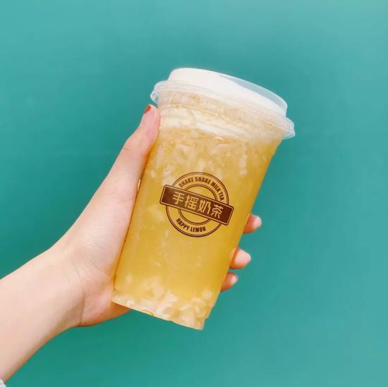 輕奶霜荔枝-快樂檸檬