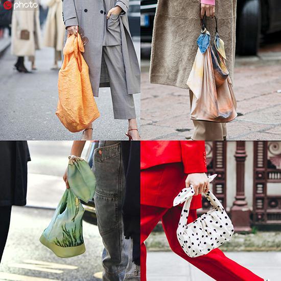 奶奶裤潮流过去了 时髦的奶奶包了解下包袱饭盒包印花