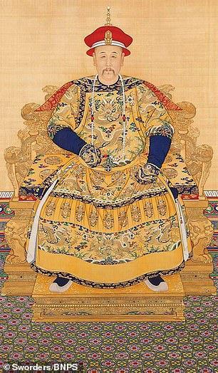 雍正肖像(《每日邮报》)