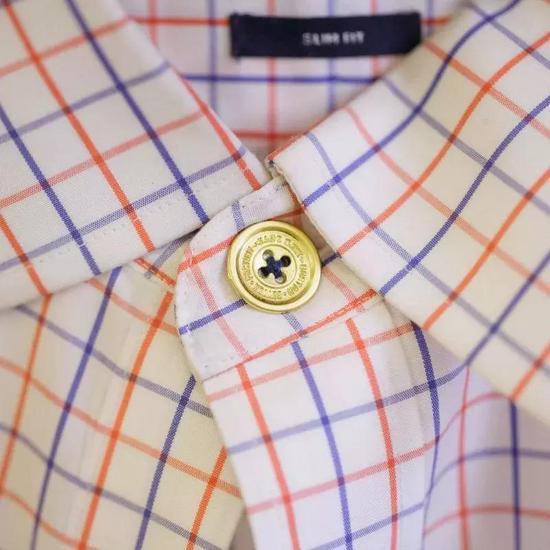 横纵向的不同会影响到衬衫的受力方向