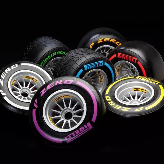 ▲ 倍耐力轮胎