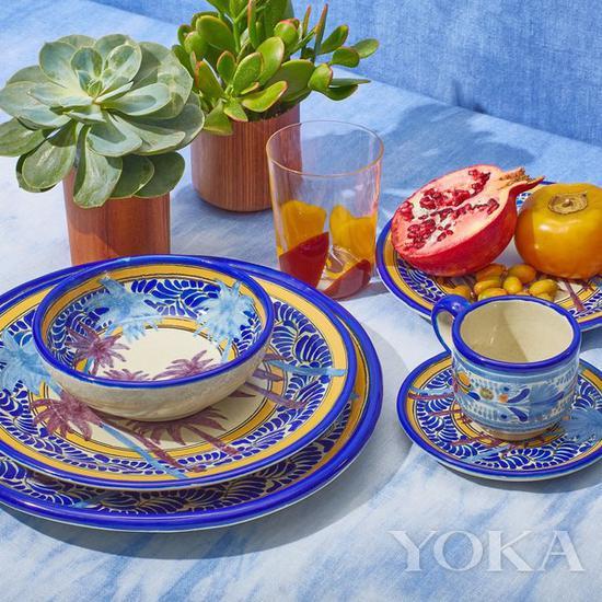 The Elder Statesman 餐具系列 图片来自品牌