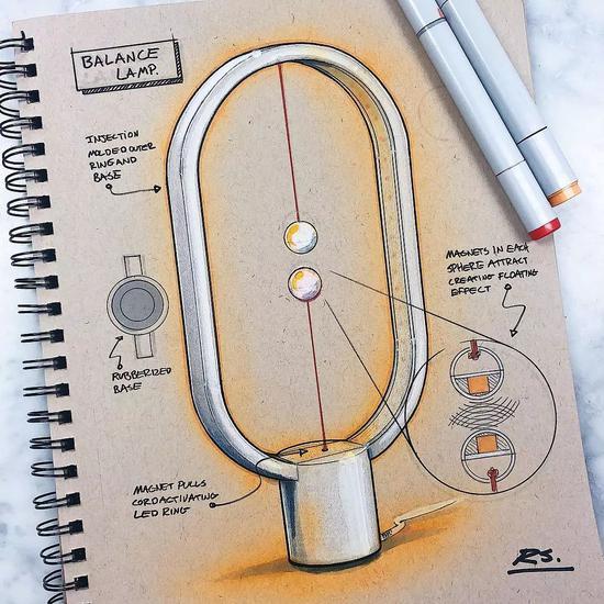 工业设计高光笔