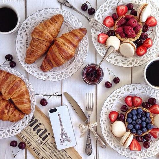 早餐也要儀式感 圖片來源karolinaone.tumblr.com