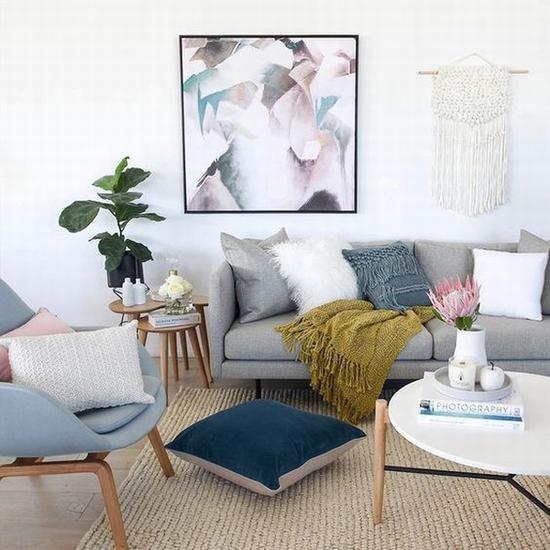 随意放置的盖毯 图片源自www.united-interiors.com.au