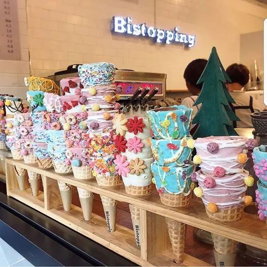 夏末就该去冰淇淋店拍时尚大片雷霆豹兵