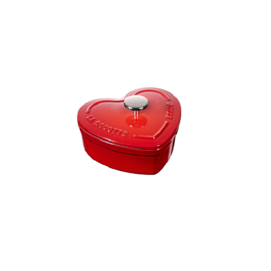 双立人STAUB珐琅铸铁锅 迷你心形炖锅 价格1088元 可在官网购买 图片源自官网