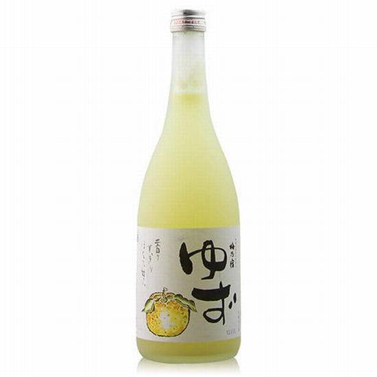 梅乃宿柚子酒 图片来自亚马逊 价格约249元
