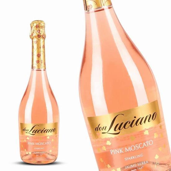 威赛帝斯 唐诺桃红起泡酒 图片源自亚马逊 价格约88元