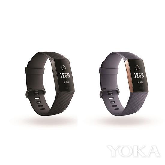 单品推荐:Fitbit Charge 3智能手环 1298元(图片来源于品牌)