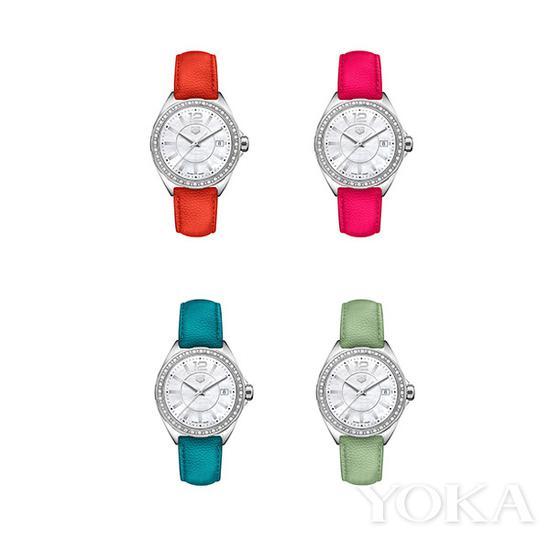 单品推荐:泰格豪雅F1女士系列腕表 7600元起售(图片来源于品牌)