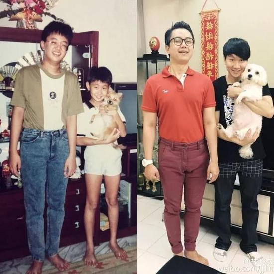 ▲左:哥哥/右:林俊杰
