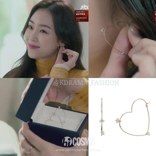 耳环:J.ESTINA 约910人民币