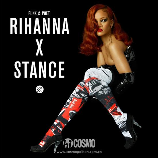 Rihanna×Stance联名款