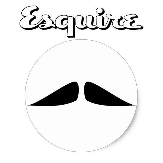 修剪方法:与法式须型的修剪技巧相同,但胡子的尖端较不规则、较厚且圆。