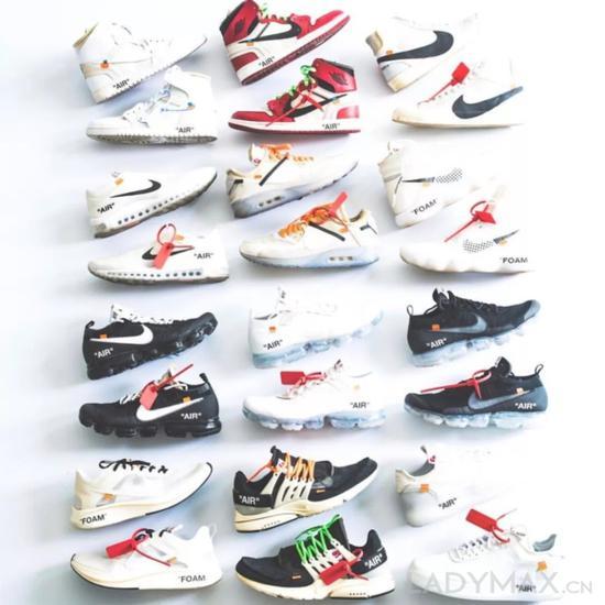 """据悉Nike """"The Ten""""系列鞋款在转售市场中的价格为原价的5至10倍"""