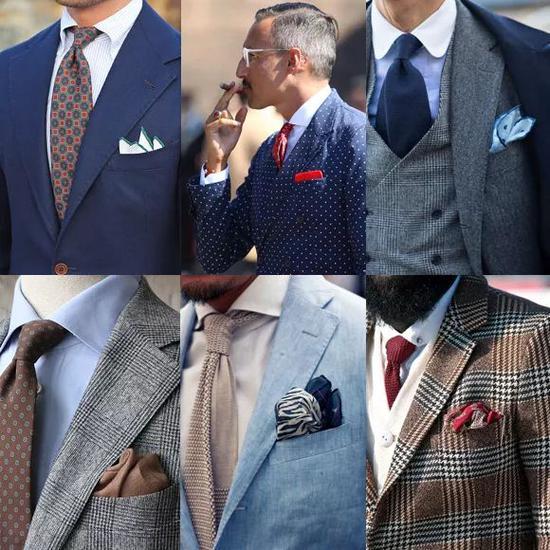 除了礼服限制纯白亚麻,其余场合(包含商务)能任意选择