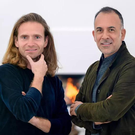左:Vitor Borges 右:Franck Laigneau